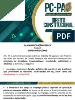 Da Administração Pública - Art.37 e 38