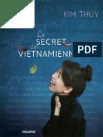 secret des Vietnamiennes_ Le - Kim Thuy (1)