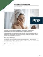 Retinóides Benefícios e Mitos Para a Pele