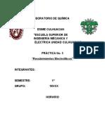 LABORATORIO DE QUIMICA PRACTICA 5
