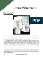IV Bim - HP - 2do Año - Guía 4 - La Cultura Virreinal II