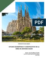 Estudio Geom Trico y Constructivo de La Obra Antoni Gaudi