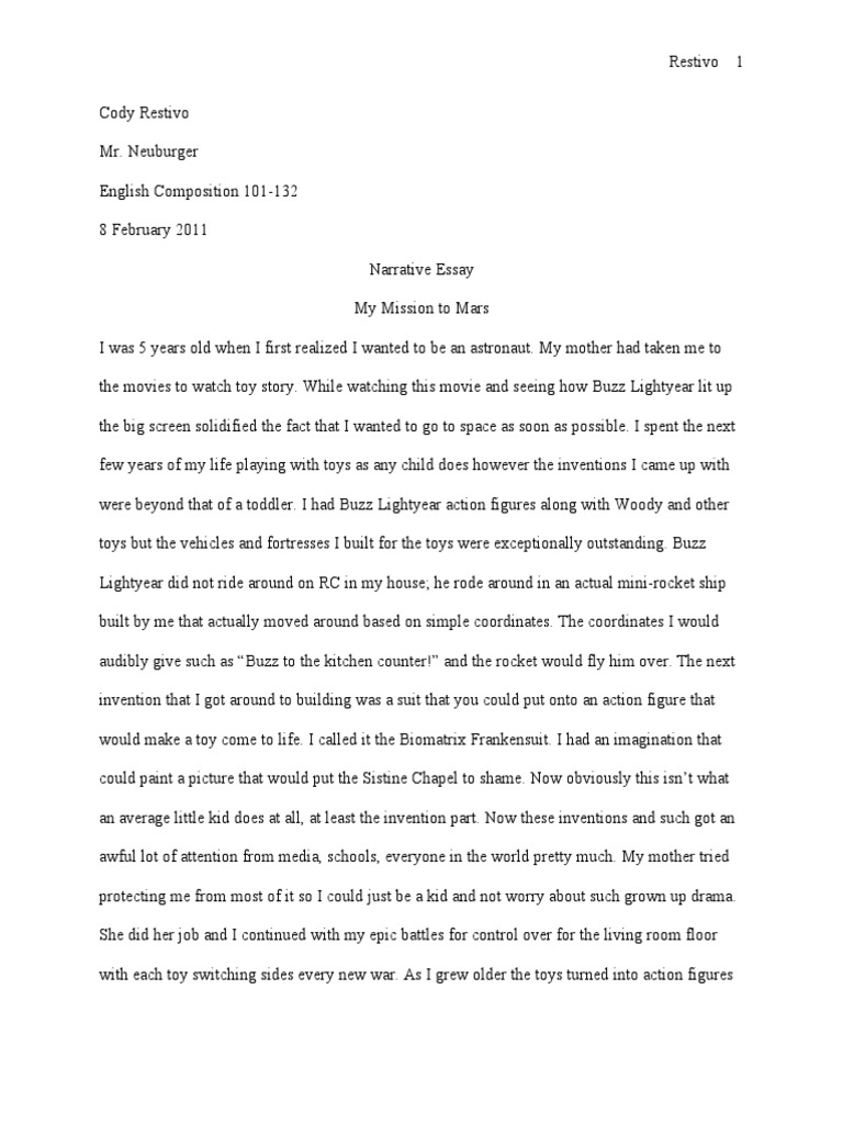 when i was a little kid essay