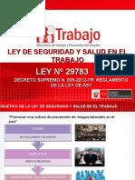 Ley y Reglamento Sst -Lima