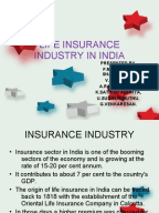 SWOT Analysis of Insurance Sector