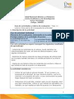 Guia de Actividades y Rúbrica de Evaluación Fase 4 - Lectura crítica acerca de la búsqueda de la felicidad