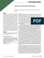 Endodontic Applications of Cone-Beam Volumetric