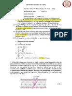 Examen de 2da Unidad de Transferencia de Calor