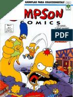 Los Simpson Comics 001 - El Alucinante y Colosal Homero