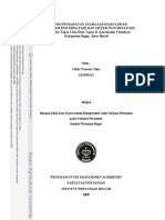 Analisis Pendapatan Usahatani Padi Sawah