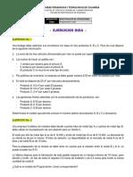 Ejercicios de Modelos de Programación Lineal