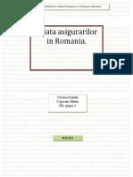 Piata asigurarilor in Romania