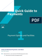 Quick Guide To Payments