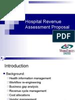 Workforces United Hospital Revenue Assessment example