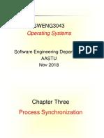 Chapter 3- Process Synchronization(1)
