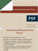 Andersen's Nativization Theory (GREPO)