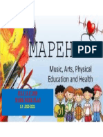 MAPEH WWP COVER PAGE