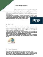 COLOCAÇÃO DE PAPEL DE PAREDE 3