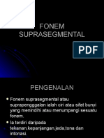 FONEM SUPRASEGMENTAL