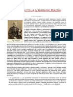 La Giovine Italia di Giuseppe Mazzini