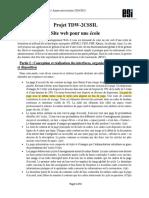 Projet TDW 2020-2021