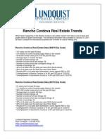 Rancho Cordova Real Estate Trends