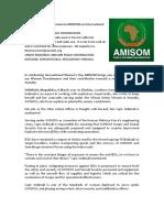 NEWS ARTICLE - Celebrating Women in AMISOM on International Women's Day