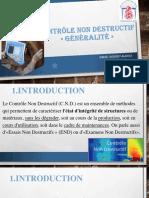 Chapitre 1 CND  Généralité-ppt