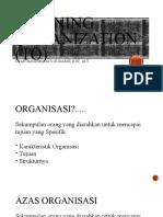 Training Organization (to)