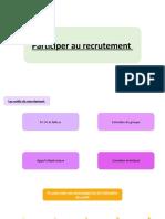 Participer au recrutement