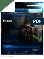 Roach-Unit Description - Game - StarCraft II