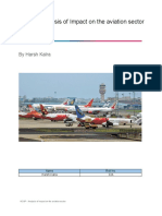 Assignment - NCAP - Analysis of Impact on the Aviation Sector