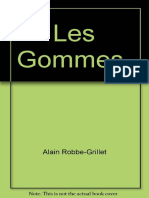 Les Gommes - Alain Robbe-Grillet