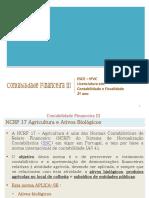 Agricultura e Ativos Biológicos NCRF 17
