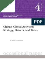 CHINA'S GLOBAL ACTIVISM