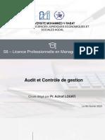 Chapitre 1_Audit et contrôle de gestion_S6_Licence Professionnelle Management PME PMI
