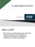 ERP & Implementation