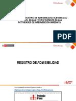 Manual de registro - Actividades de intervención inmediata