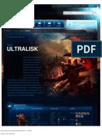Ultralisk-Unit Description - Game - StarCraft II