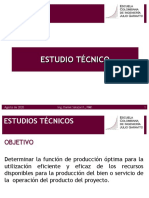 6. Estudios técnicos