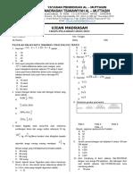 1. Format Soal UM Ganjil 2020-2021