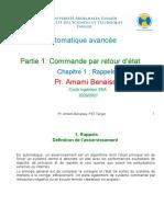 Automatique Avancee Chapitre1 2020 2021 2