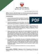 Res. 0243-2020-JNE Reglamento de Personeros