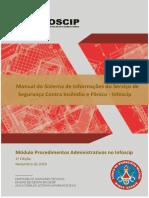 02 - InFOSCIP - Módulo Procedimentos Administrativos 1ª Edição v1.1