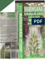 JORGE CERVANTES. Marihuana. Horticultura Del Cannabis.