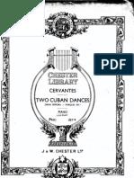 danzas cervates