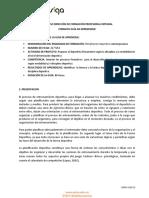 1 GUIA DE APRENDIZAJE CURSO COMPLEMENTARIO PLANIFICACIÓN DEPORTIVA