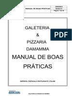 MANUAL DE BOAS PRATICAS GALETERIA PIZZARIA DA MAMA