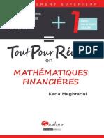 Tout pour réussir en mathématiques financières