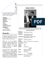 Benjamin Britten - breve reseña
